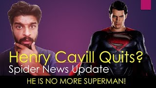 Henry Cavill Leaving Superman Role