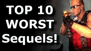 TOP 10 Worst Sequels In Gaming!