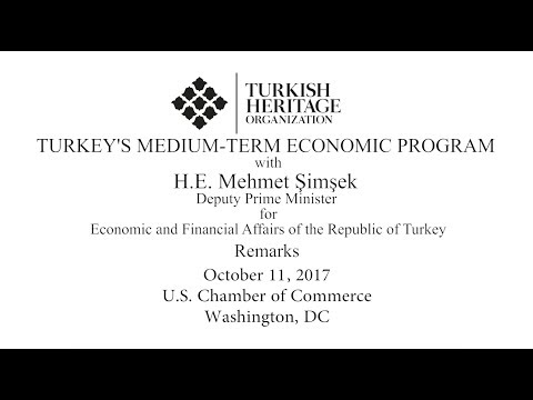 High-level Roundtable on Turkey's Medium-Term Economic Program with Mehmet Şimşek