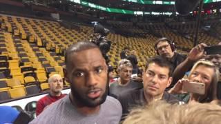 LeBron James: Brad Stevens is a 'better coach' too