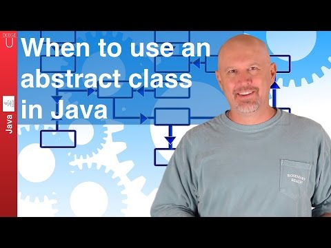 When to use an abstract class in Java - 038