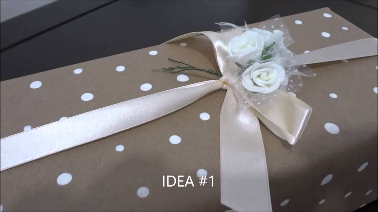 Como envolver regalos de forma original para mujer diy - Envolver regalos de forma original ...