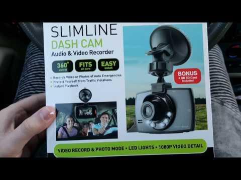SoundLogic Slimline Dashcam Unboxing