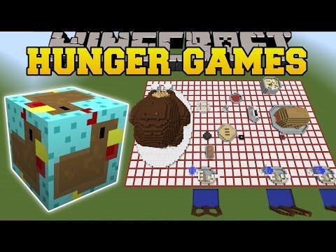 Minecraft: THANKSGIVING DINNER HUNGER GAMES - Lucky Block Mod - Modded Mini-Game