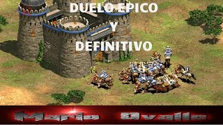 THE VIPER VS NICOV EL DUELO DEFINITIVO EN EL TORNEO EGM  AGE OF EMPIRES 2