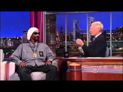 Snoop Dogg interview on David Letterman April 25, 2013 fullm