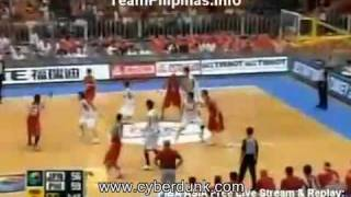 Cyberdunk: Philippines Vs Japan FIBA