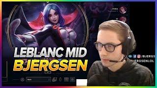 637. Bjergsen Leblanc vs Lissandra Mid - Patch 8.9 Season 8 - BJERGSEN STREAM