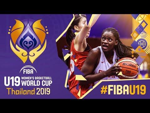 Spain V Japan - Full Game - FIBA U19 Women's Basketball World Cup 2019