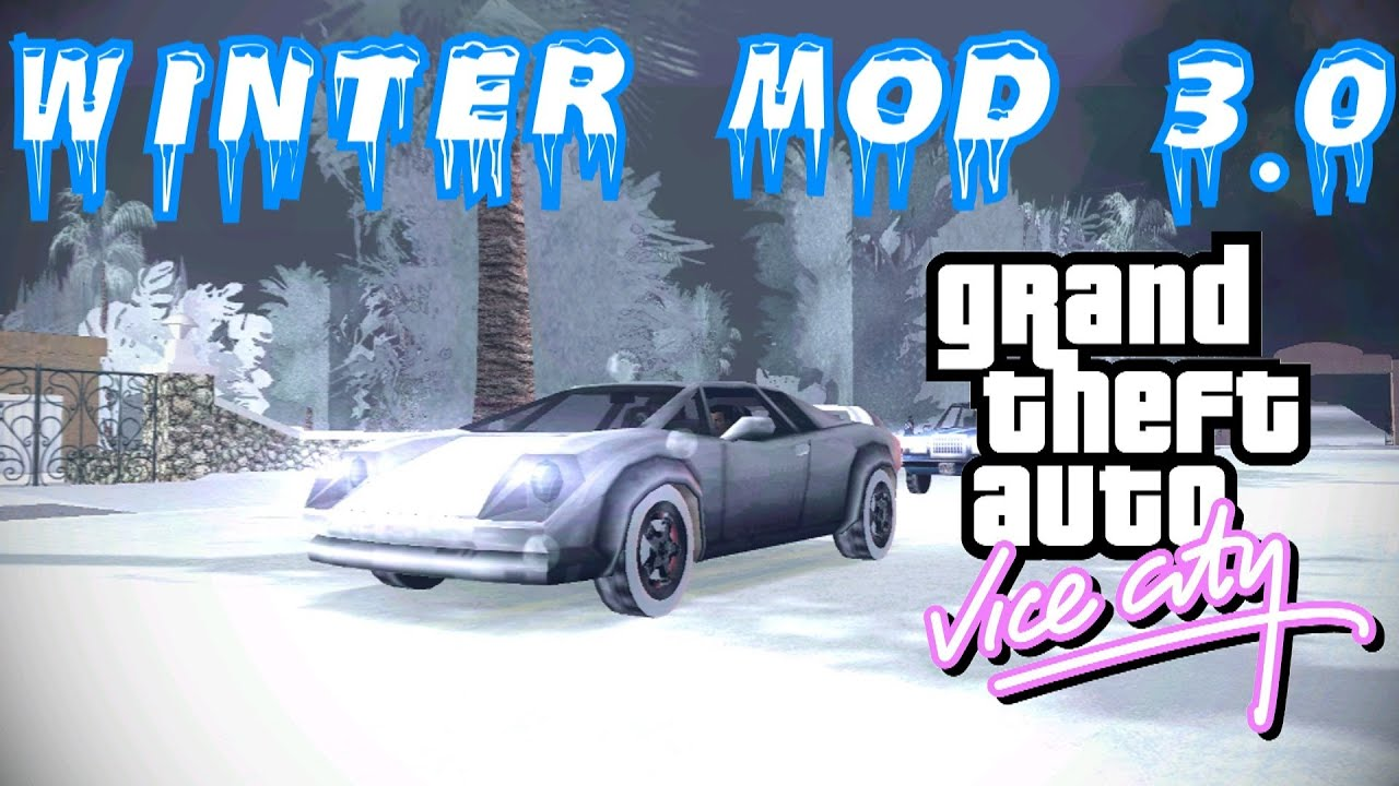 Gta Vice City Winter Edition Mod K Resolution Link Para Download Na Descricao