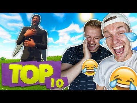 DE TOP 10 GRAPPIGSTE FORTNITE MOMENTEN!! 😂 - Fortnite Top 10 ft. Enzo Knol (Nederlands)