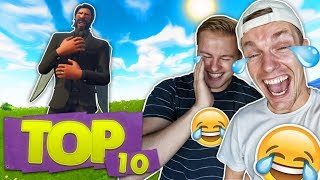 DE TOP 10 GRAPPIGSTE FORTNITE MOMENTEN!! 😂 - Fortnite Top 10 ft. Enzo Knol (Nederlands)