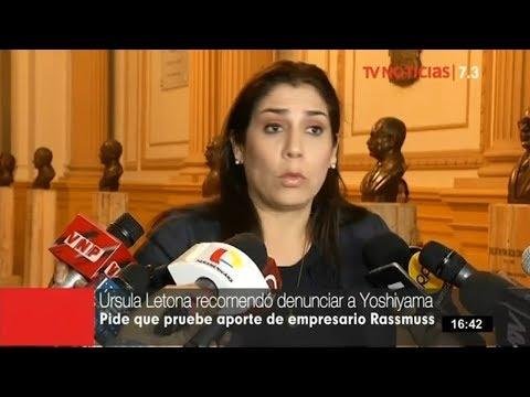 Úrsula Letona revela que recomendó a Keiko Fujimori denunciar a Yoshiyama