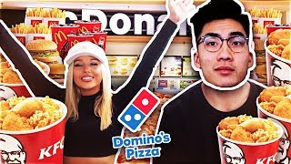 BUYING THE ENTIRE MENU FROM EVERY FAST FOOD RESTAURANT IN THE WORLD