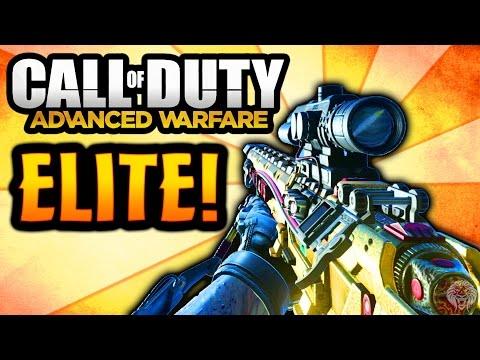 "COD Advanced Warfare: ELITE MORS ""Silver Bullet"" - Rare Supply Drop Sniper Rifle (Call of Duty AW)"