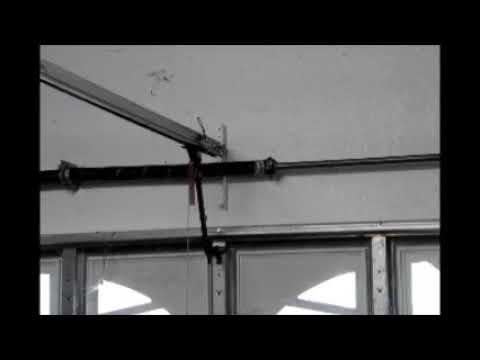 Garage Door Stops 1 Foot From Floor Youtube