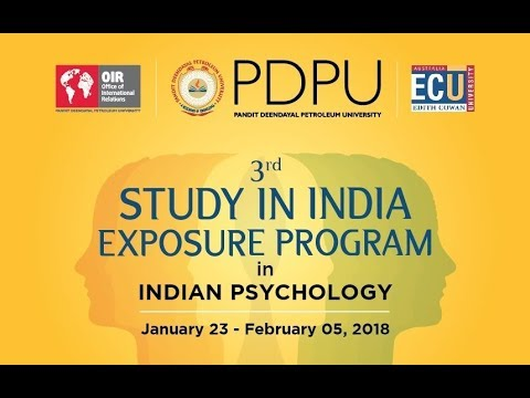 3rd PDPU, India Study in India Exposure Program (SIEP) for Edith Cowan University (ECU), Australia