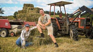 How We Make Hay in Rural NZ | FULL PROCESS