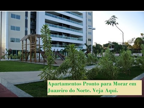 Juazeiro Gran Residence - Apartamento Pronto em Juazeiro do Norte