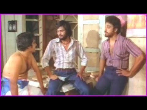 Unemployed Boys Emotional Words - Aakali Rajyam Telugu Movie Scene | Kamal Hassan