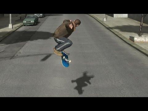 SkateIV - GTA IV skate mod under development