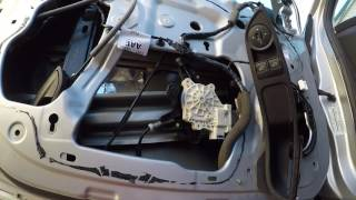 2012 Up Ford Focus Front Window Motor Replacement