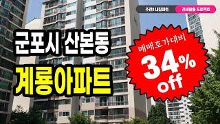 [부동산경매잡썰-내집마련 프로젝트]매매호가 대비 34%…