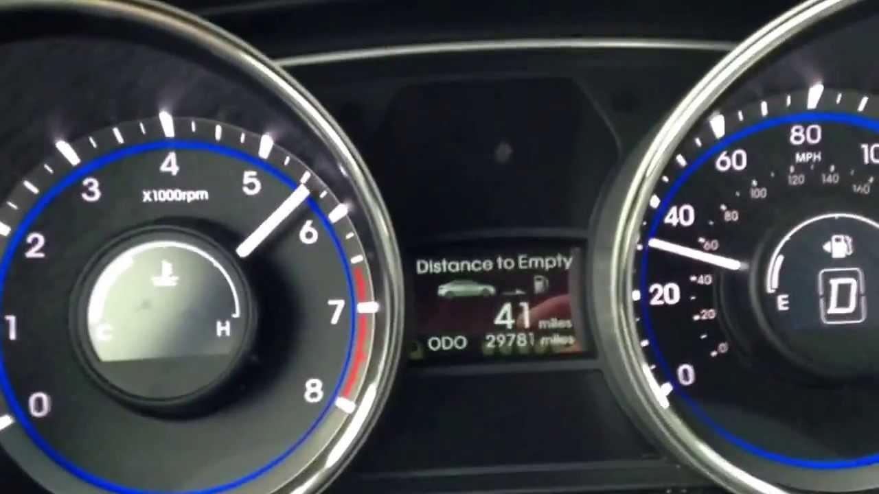 2013 Hyundai Sonata 2 0t 0 60