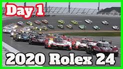 2020 Rolex 24 Daytona First Day Highlights