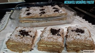 Nescafeli Bisküvili Pasta - Hülya Ketenci - Pasta Tarifleri