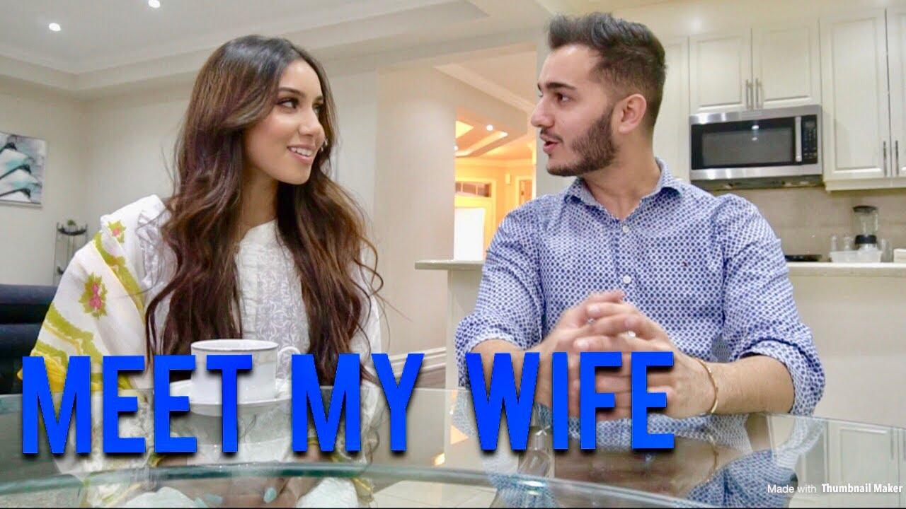 wife flirting video