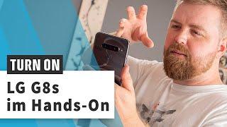 LG G8s im Hands-On: Bedienen ohne Berühren
