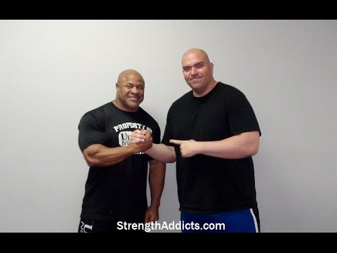 IFBB Pro BILL WILMORE - Interview - Olympia Gym