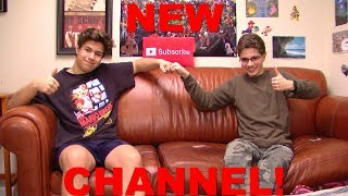 We made a NEW CHANNEL!