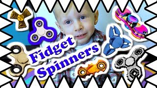 A Fidget Spinner Video! Fidget Spinner for Kids! What Is The Purpose?