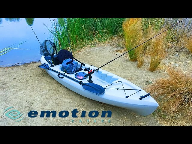 Emotion Angler Kayak Setup