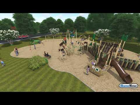 Idlewood Park Community Playground, Morton, IL