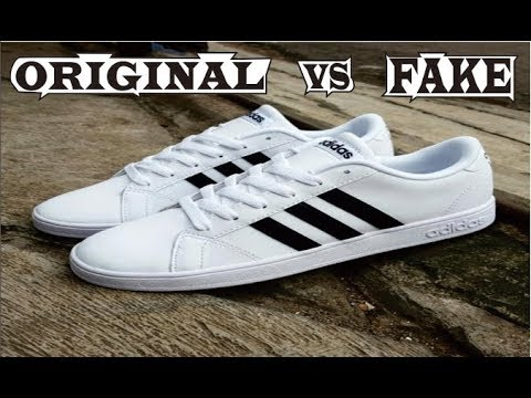 593b1894301 Difference Adidas Neo Baseline Original & Fake