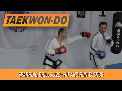 Sparing Drills #22: Hit and run tactics.