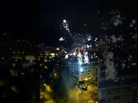 New Year 2018 celebration in Zagreb