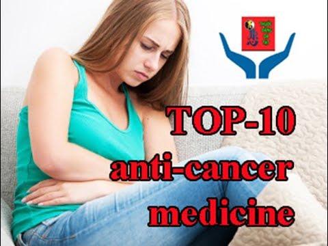 Ung thư.Top-10 anti-cancer medicine.