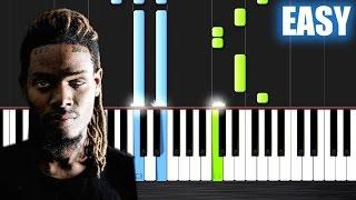 Fetty Wap - Trap Queen - EASY Piano Tutorial by PlutaX