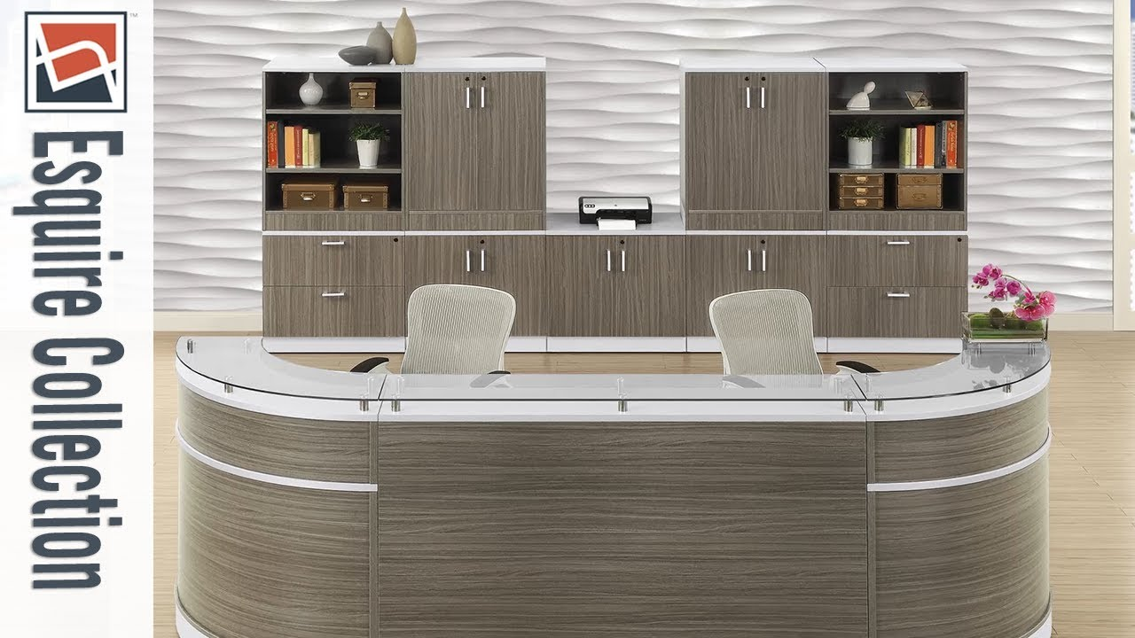 Reception Furniture Nbf Signature Series Esquire Collection National Business Furniture