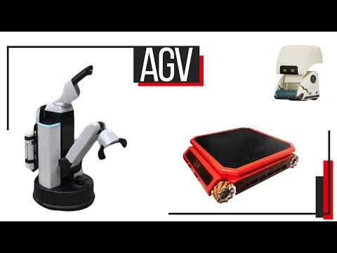 Автоматически управляемые тележки (AGV - Automatic Guided Vehicle) / Юрий Посух CMO в SB Robotics