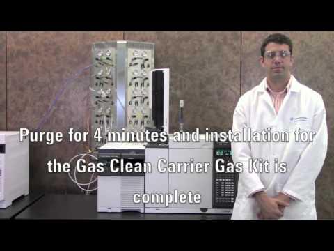 Gas Clean Kit Installation