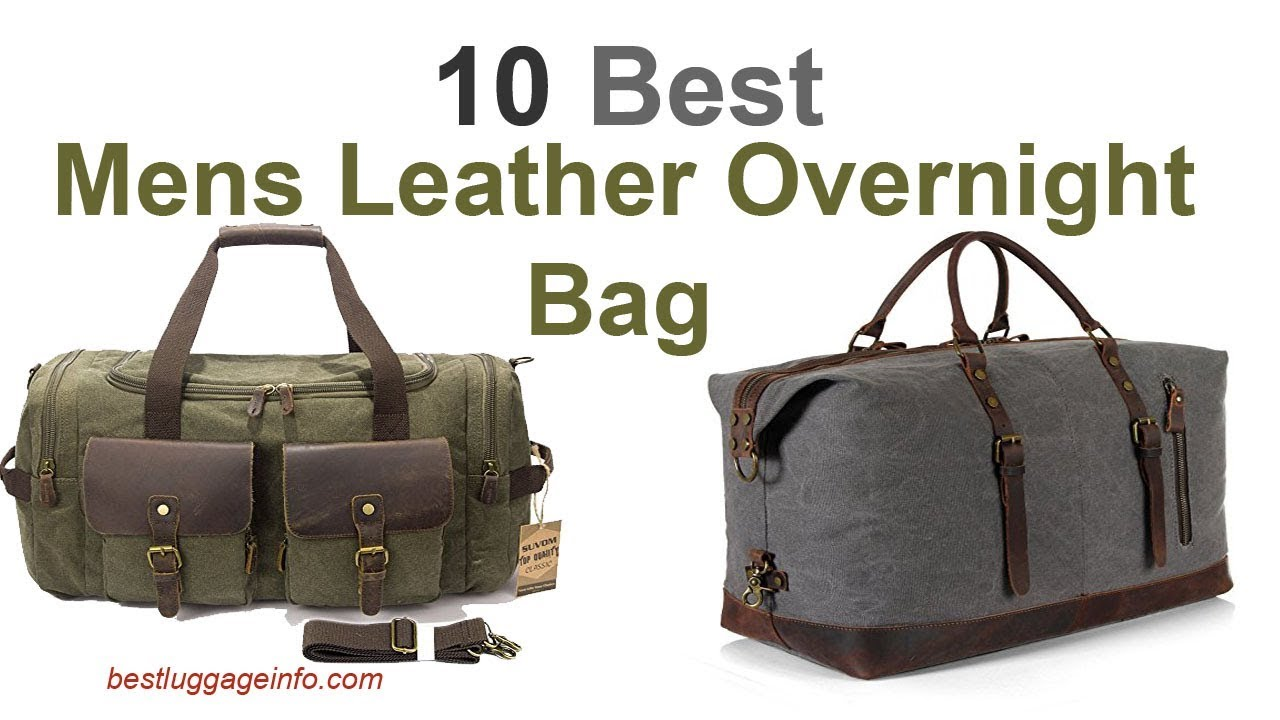 ba76203f9fe Best Mens Leather Overnight Bag | Ten Best Carry On Large Designer Cute  Overnight Bags.