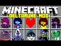 Minecraft DELTA RUNE MOD! | KRIS, SUSIE, JEVIL, LANCER, UNDERTALE & MORE | Modded Mini-Game