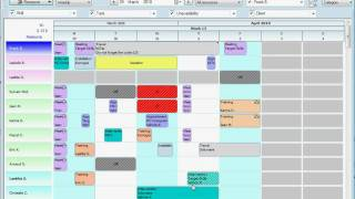 Office scheduling - Task planning software (english)