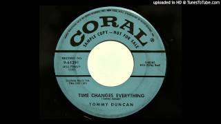 Tommy Duncan - Time Changes Everything (Coral 61391) [1955 western swing]