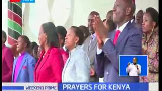 William Ruto leads Kenyans in marking the National Thanksgiving Day
